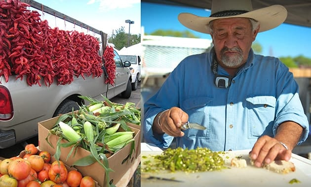Santa Fe New Mexico farmers market