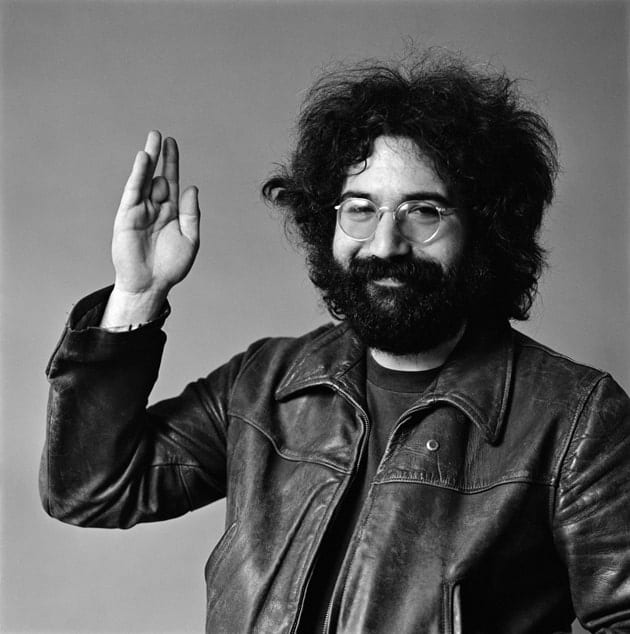 Jerry Garcia Waving
