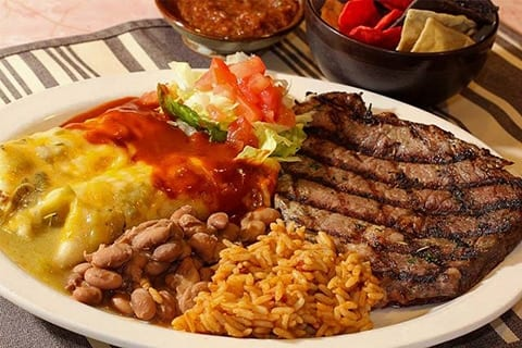 Santa Fe New Mexico pantry steak