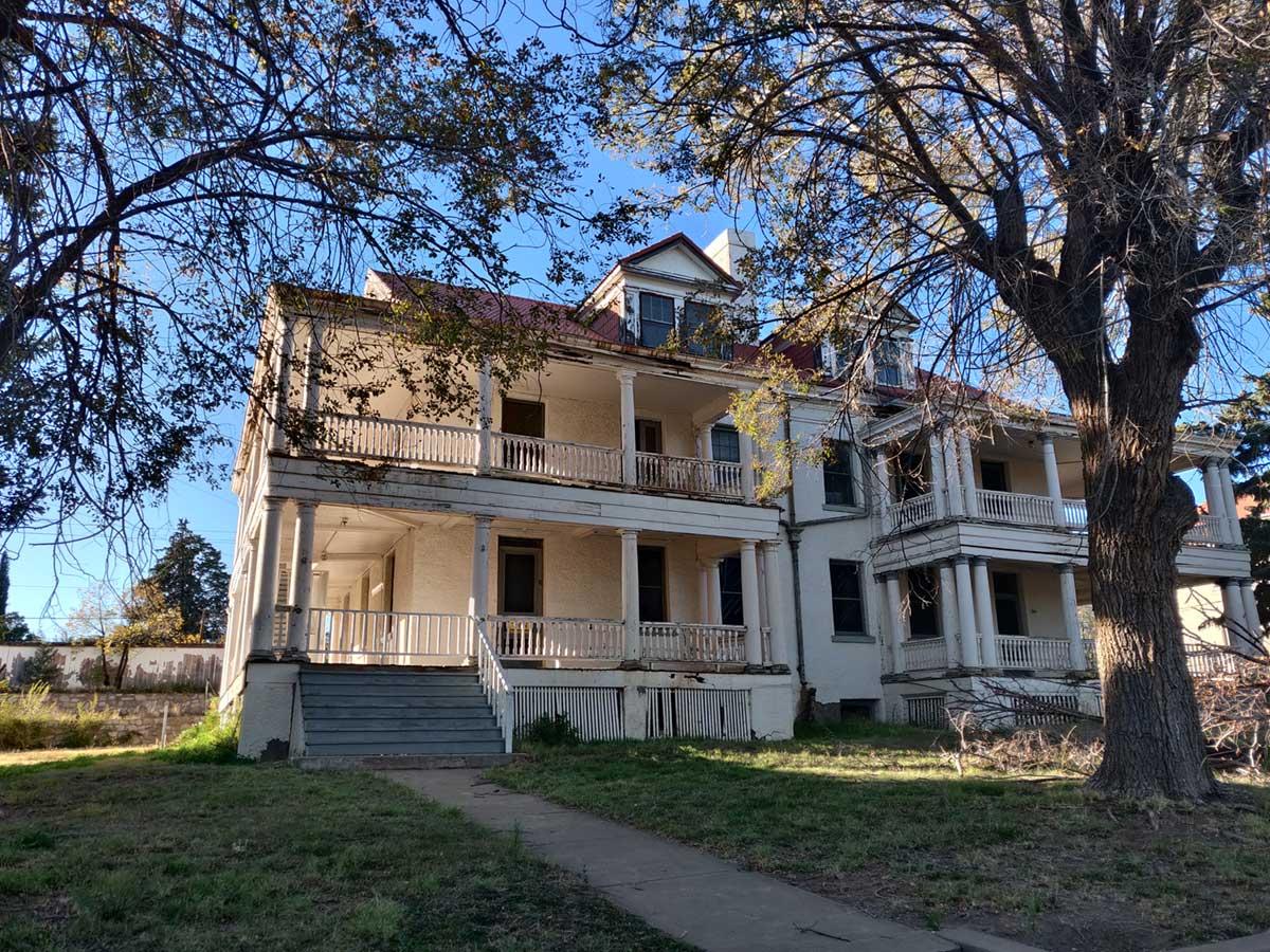 Historic building at Fort Bayard